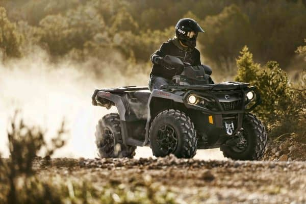can-am quad bike
