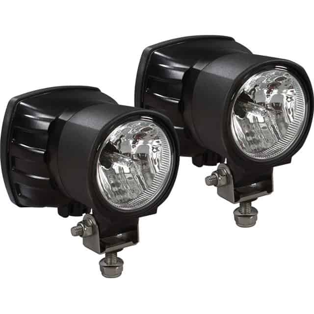 Can Am Dealers Large HID Lights By Hella