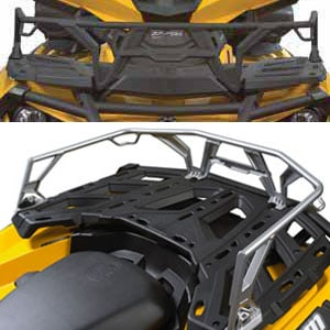 "Can Am Parts LinQ 6"" (15cm) Front and Rear Rack Extensions"