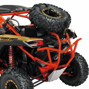 Dirt Bikes Perth Maverick X3 Rear Cage Extension Can-Am Red