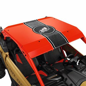 Can Am Perth Maverick X3 Lonestar Aluminum Roof Red
