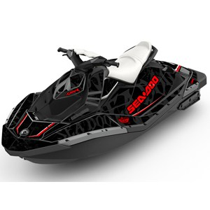 Sea Doo Black Sea Spark Graphics