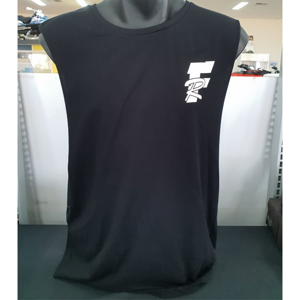 Fridays Fault Muscle Tee No Sleeves