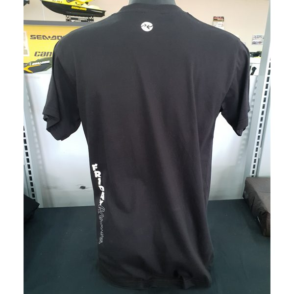 Friday's Black Racing Tee