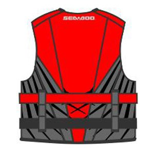 Sea Doo Parts Red Splash BK