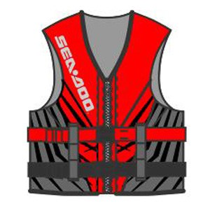 Sea Doo Parts Red Splash FT
