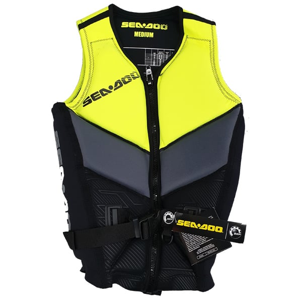 Sea-Doo Jet Ski Sales Perth X-Team Life Jacket Yellow