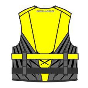 Sea Doo Parts Yellow Splash BK