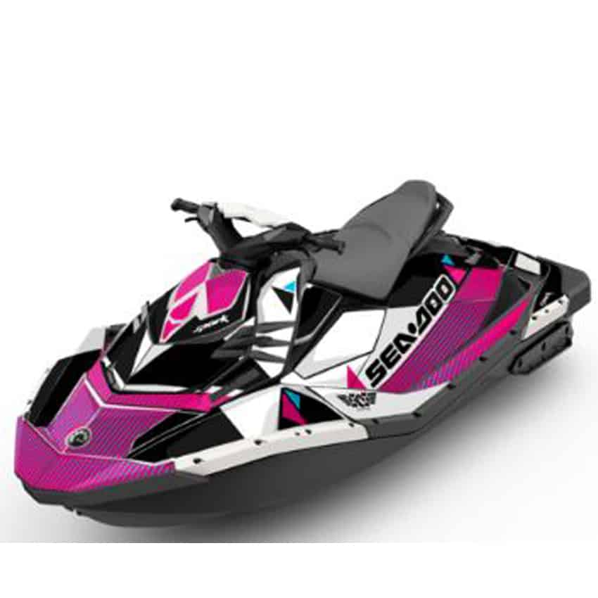 Jet Ski Perth Spark Attitude Graphics Kit Bermuda