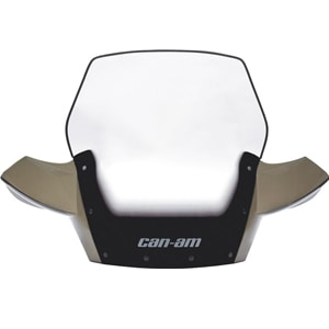 Can Am MotorBike Perth Black Can Am Ultra High Windshield Kit
