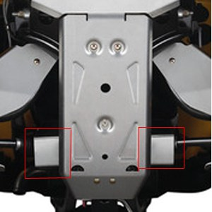 Motorbike Perth Rear Differential Protector