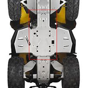 Can Am Parts Central Chassis Skid Plate