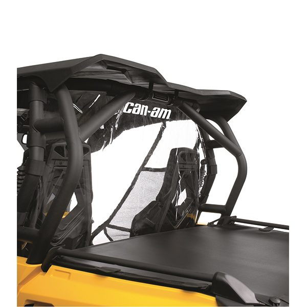Can Am Parts Clear Back Windshield