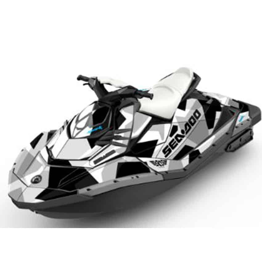 Seadoo Jet Ski For Sale Spark Attitude Graphics Kit Covert