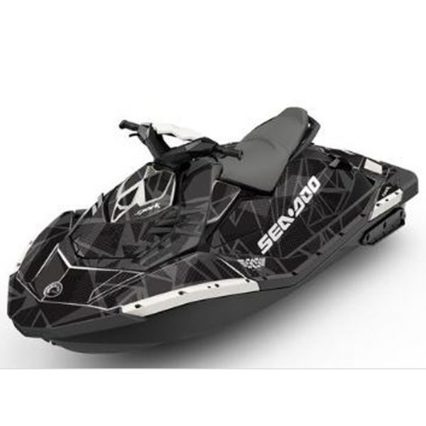 Black Sea Doo Spark For Sale Attitude Graphics Kit Dauntless