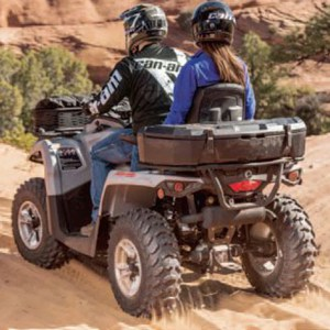 Can Am Buggy LinQ 45L Cargo Box By Can Am