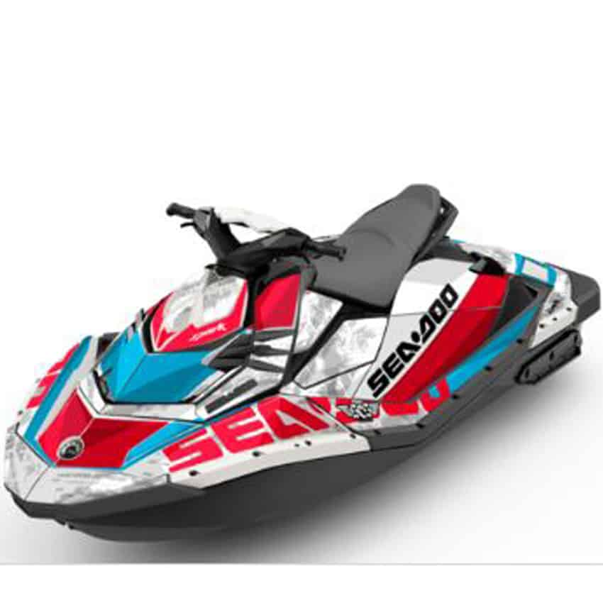 Seadoo Perth Spark Attitude Graphics Kit Lowdown
