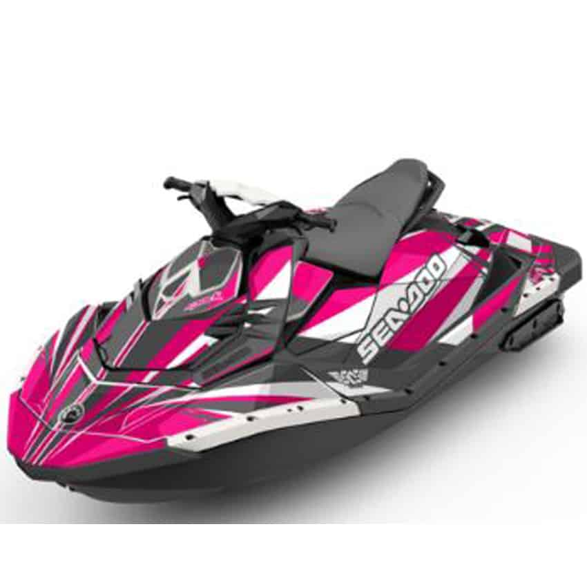 Pink Sea Doo For Sale Spark Attitude Graphics Kit