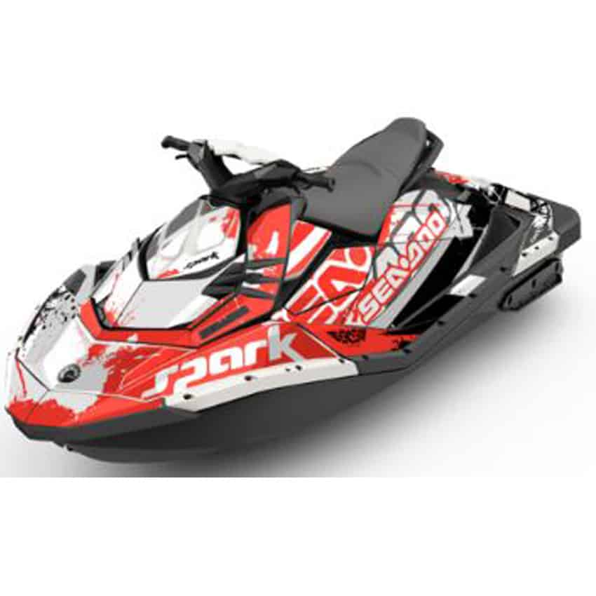 Jet Ski For Sale WA Spark Attitude Graphics Kit Overtime