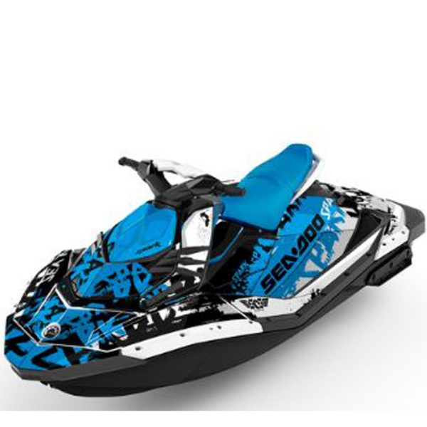 Seadoo For Sale Spark Attitude Graphics Kit Tomahawk