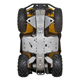 Can Am Parts Complete Skid Plate Protection Kit