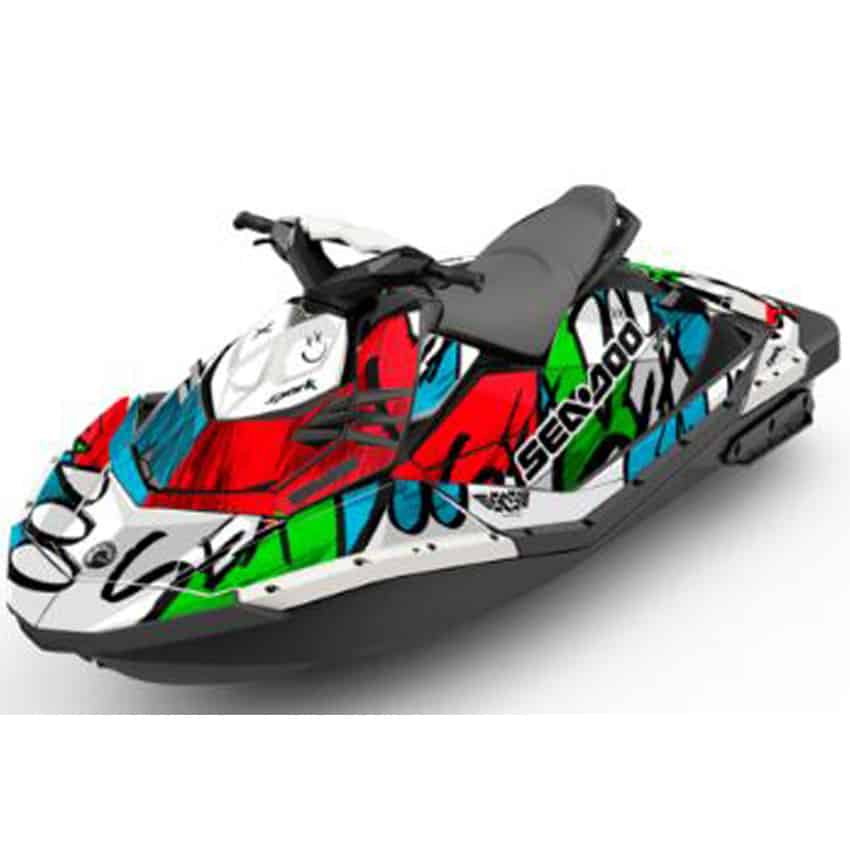 Sea Doo Spark Attitude Graphics Kit Zoovie