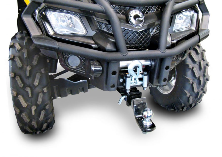 Can Am Buggy Dealers Can-Am Front Hitch Towing