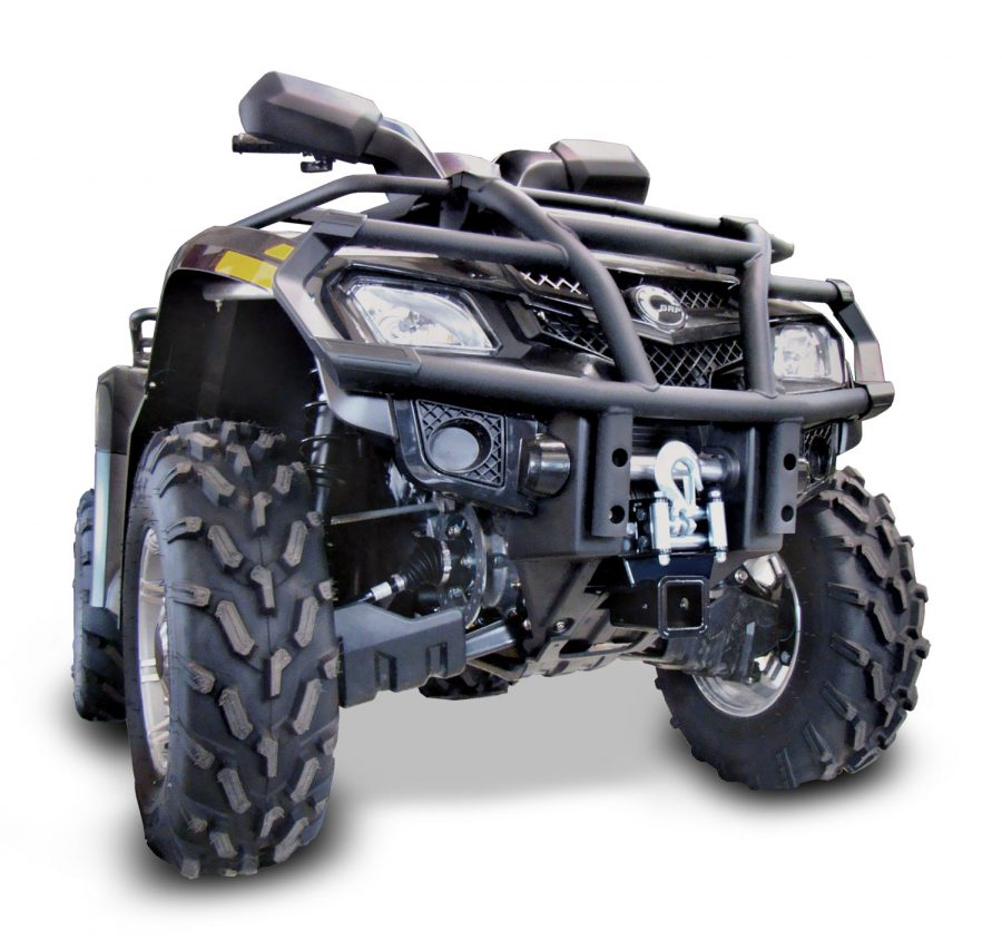 Quad Bikes Perth For Sale Can-Am Front Hitch View From The Front