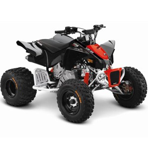 2018 Can-Am DS 90X Red Black Quad Bikes For Sale