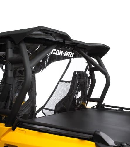 Dirt Bike Shops Perth Black and Yellow Can Am parts Soft Rear Window