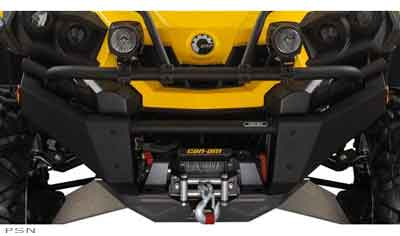 Atv Perth Can Am Parts Black and Yellow Can-Am Xtreme Front Bumper