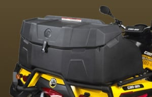 Quad Bikes For Sale Black and Yellow Can-Am Quick Attach/Detach System For Rear Trunk Box
