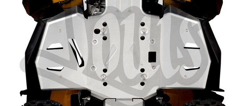 Can Am Parts Atv Perth For Sale Footwell Protector Plates Close Up