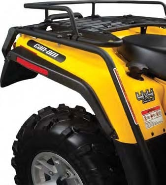 Can Am Parts Atv Perth For Sale Black And Yellow Can-Am Fender Protectors