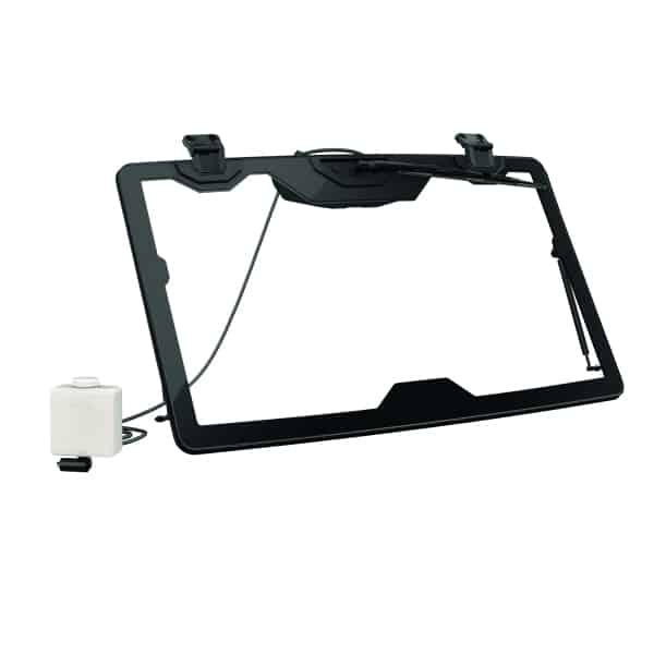 Flip glass windshield with wiper and washer kit Can Am Parts