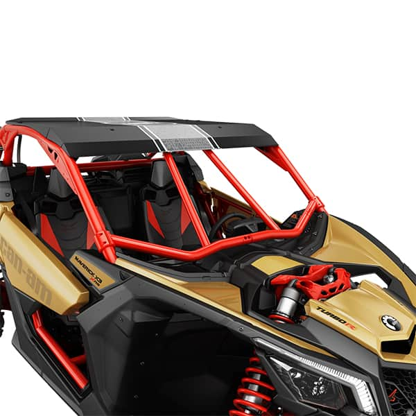 Front intrusion bar red Can Am Buggy Maverick X3