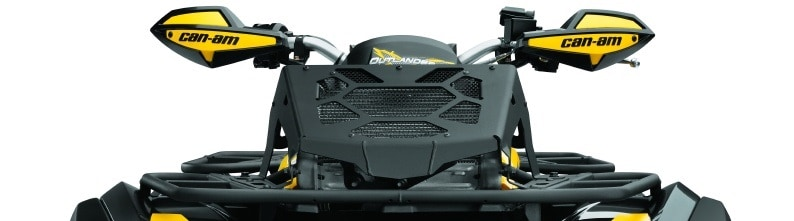 Quad Bikes Perth For Sale Black and YellowCan-Am Radiator Relocator Kit