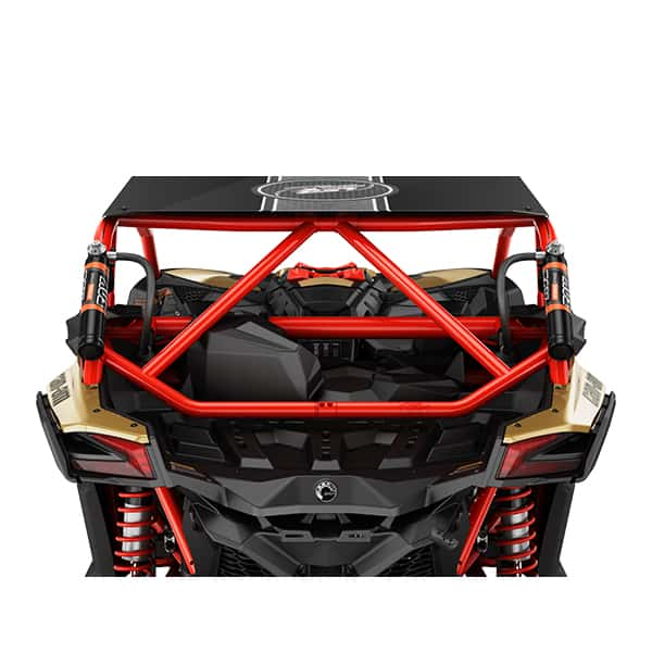 Rear intrusion bar red Can AM Buggy