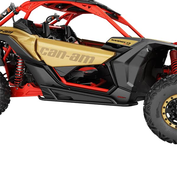 Rock sliders black Can Am Buggy Maverick X3