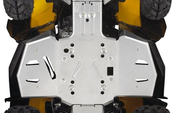 Dirt Bikes Perth Can-Am Central Chassis Skid Plate