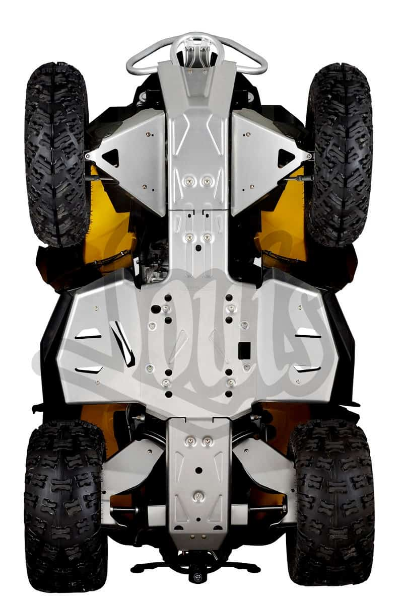 Atv Perth Dealers Can Am Parts Footwell Protector Plates Bottom View