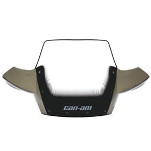 Can Am Atv Dealers Sell Black High Windshield Kit
