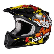 can am parts graffit junior helmet