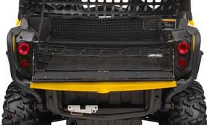 Quad Bikes Perth For Sale Black and Yellow Can Am Parts Cargo Box Storage Net
