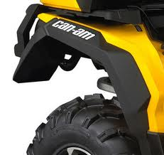 Atv Perth Dealers Can Am Parts Mudguard Kit For Outlanders