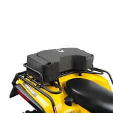 Can Am Parts Rear Bag On Black and Yellow ATV Perth Can Am