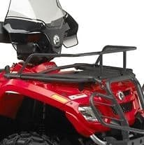 Dirt Bike Shops Perth Black and Red Front Rack Extensions