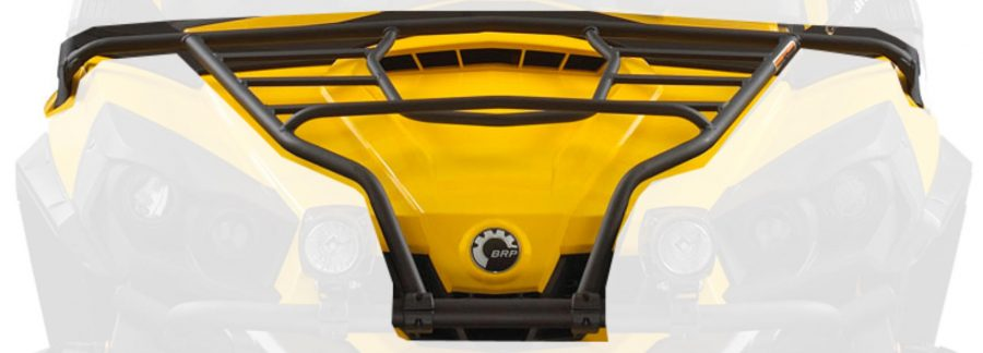 Atv Perth Dealers Yellow With Black Lining Can-Am Front Rack