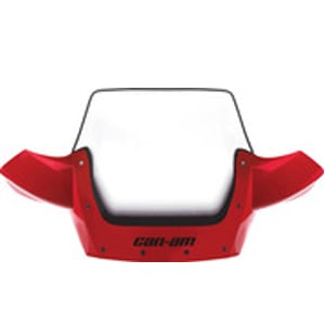 Atv Dealers Sells Red Can-Am High Windshield Kit