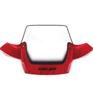 Dirt Bike Shops Perth Red Can Am Ultra High Windshield Kit